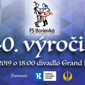 40. výročie FS Borievka
