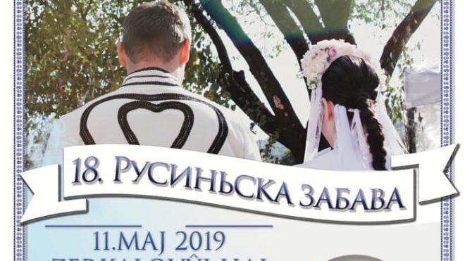 XVIII. Rusyňska zabava v Braťislavi