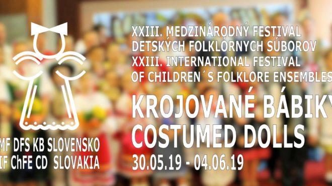 XXIII. Medzinárodný festival DFS Krojované bábiky 2019