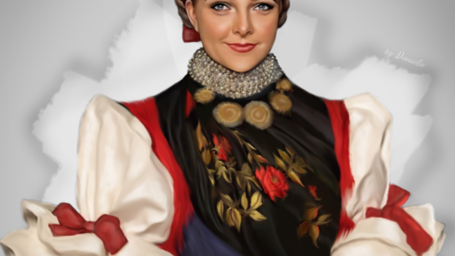 Slovenská speváčka Anna Berédiová žijúca v Srbsku