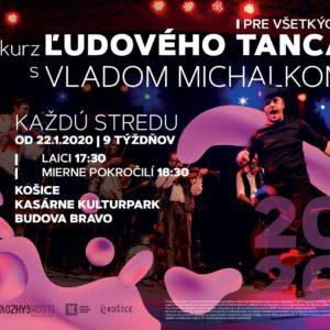 Ľudové tance s Vladom Michalkom