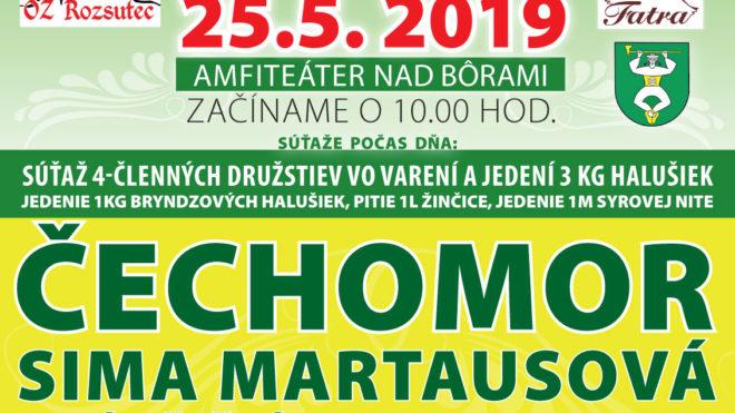 Majstrovstvá Slovenska vo varení a jedení bryndzových halušiek-Terchová