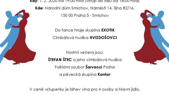 10. Rusínsky ples v Praze