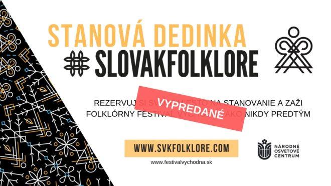 Informácie o stanovej dedinke SLOVAKFOLKLORE