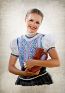 Tanečnica z UFS Mladosť