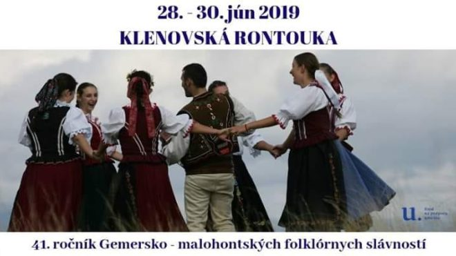 41. ROČNÍK GMFS KLENOVSKÁ RONTOUKA