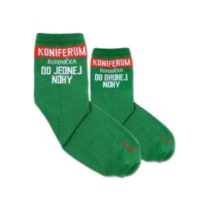 ponožky koniferum