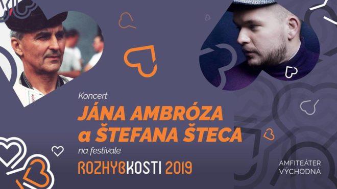 Koncert Jána Ambróza a Štefana Šteca