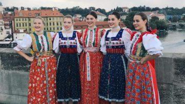 Slovakfolklore v Prahe